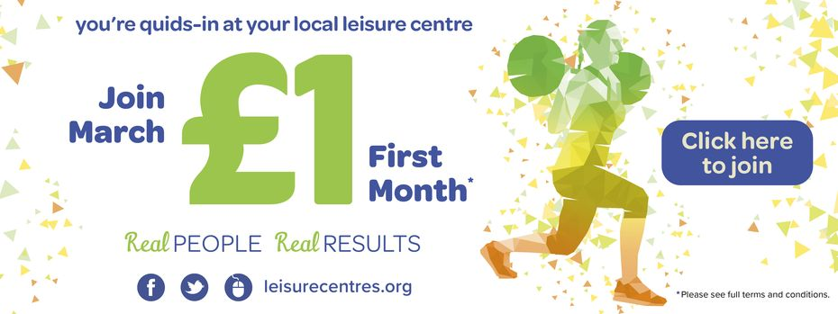 March offer -- £1 first month